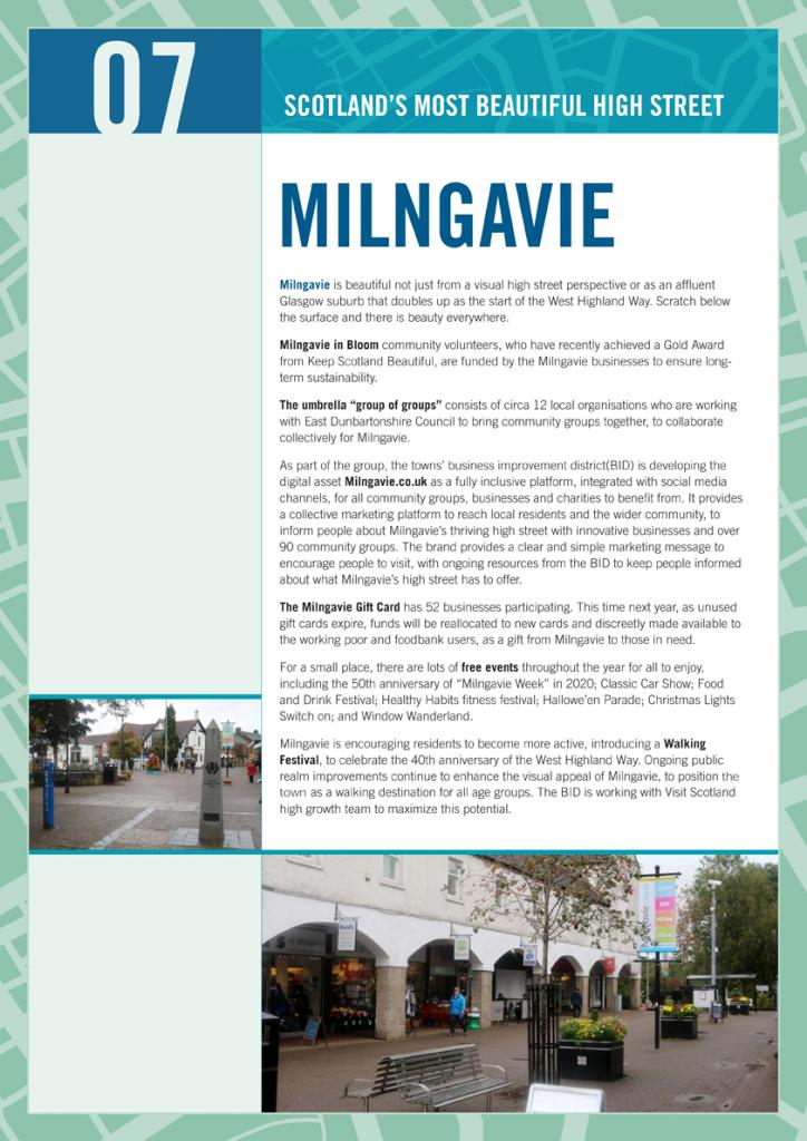 2019 Beautiful High Street Milngavie