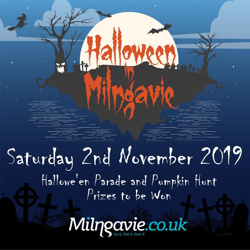 Halloween event in Milngavie 2019
