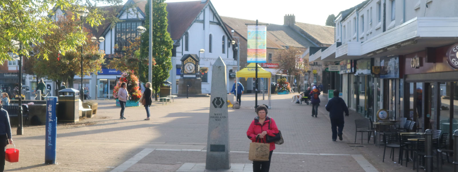 Milngavie in vote for Most Beautiful High Street