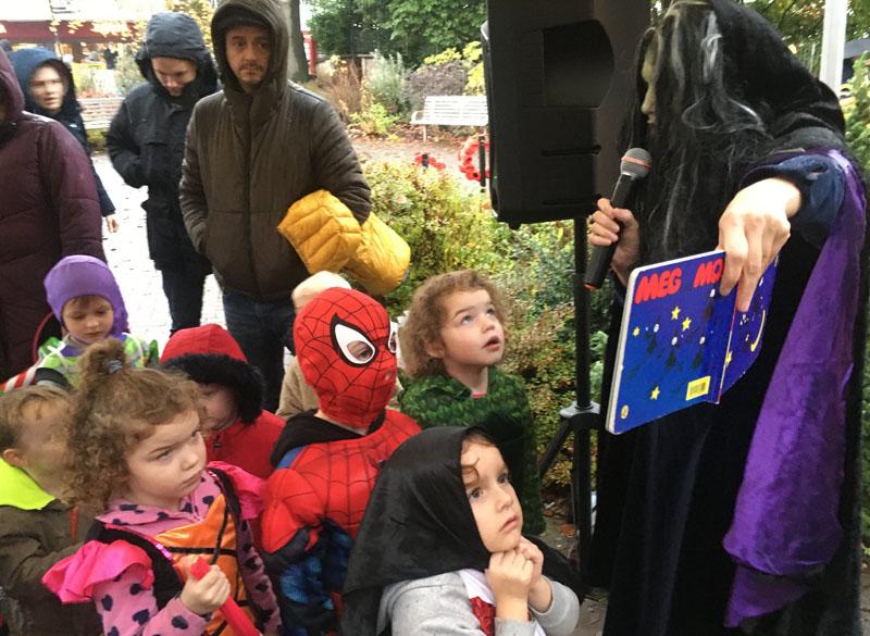 Friendly Witch Story in Milngavie Halloween 2019