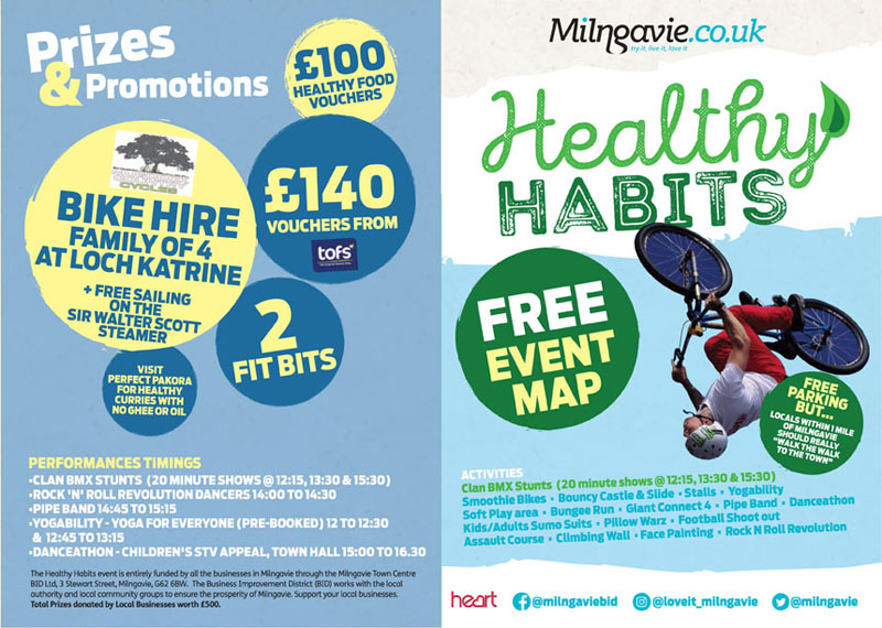 Healthy Habits event in April 2019