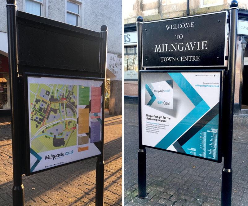 Milngavie display boards 2019