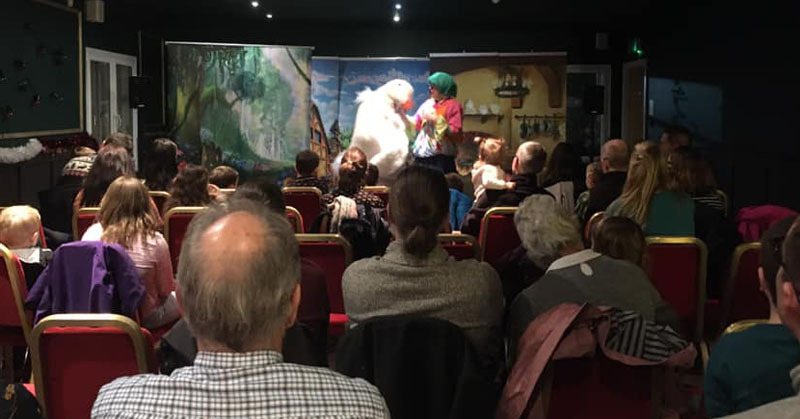 First Pop Up Panto in Milngavie to start off the Festive Shopping period 2019