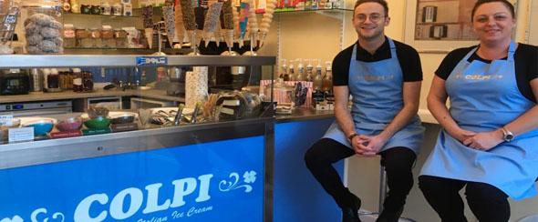 Renovated Colpi Ice Cream Shop
