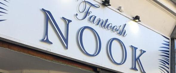 New menu at Fantoosh Nook