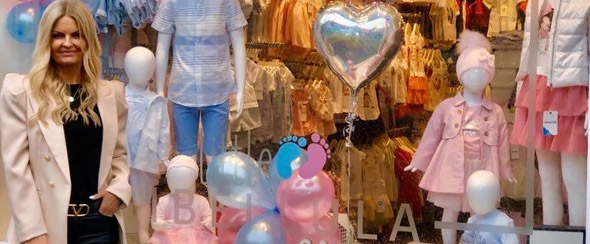 New baby clothing range at Libellula Boutique