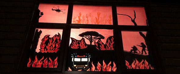 Wonderful window designs brighten up Milngavie