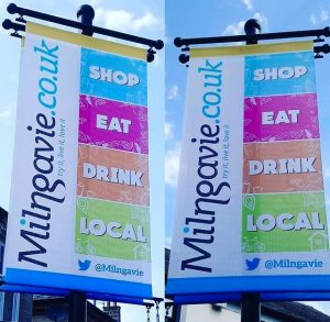 shop, eat, drink local in Milngavie