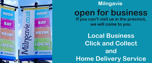 Home delivery and collection service in Milngavie