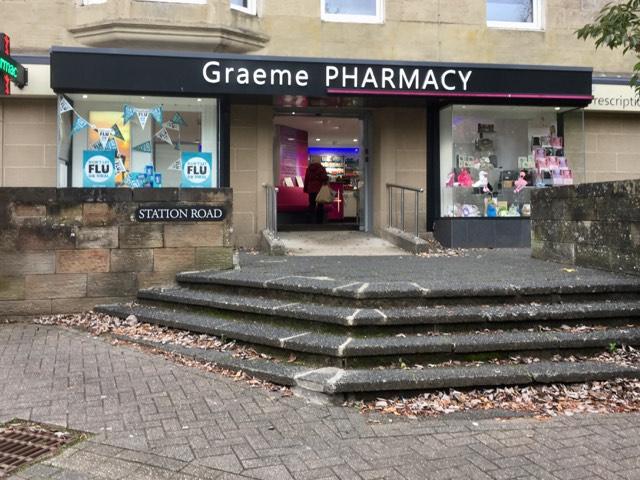 Graeme pharmacy shop open for essential goods