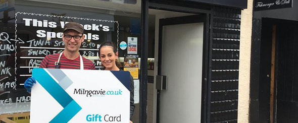 Milngavie Gift Card Appeal during Easter 2020