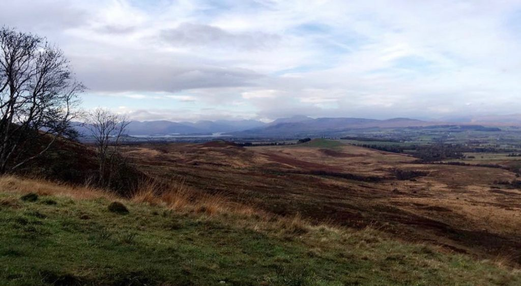 The Whangie and Queens View