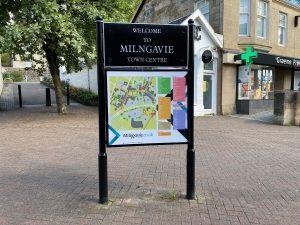 Milngavie map boards