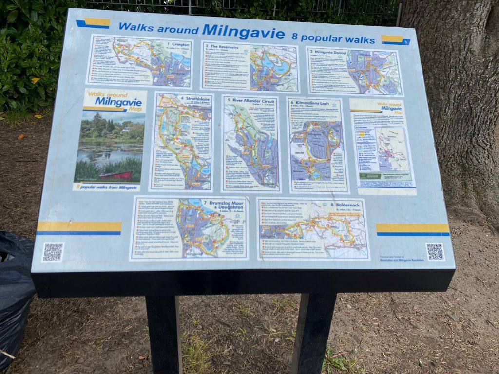 Milngavie local walks