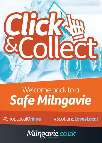 Milngavie click and collect campaign