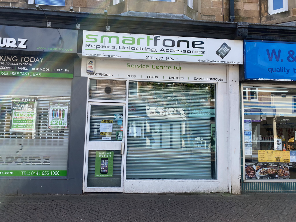 Smartfone Repairs shop in Milngavie now open for electronic repairs