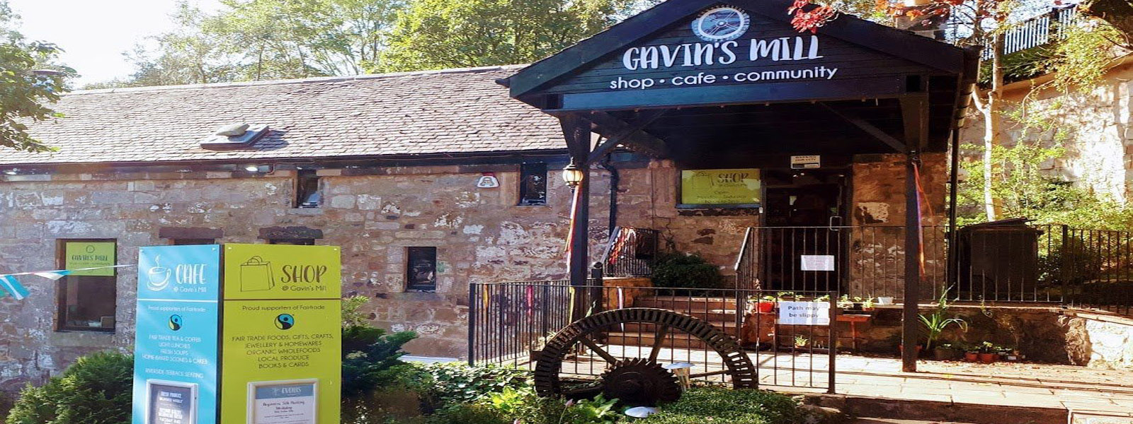 Major milestone: Gavin's Mill bought by the community