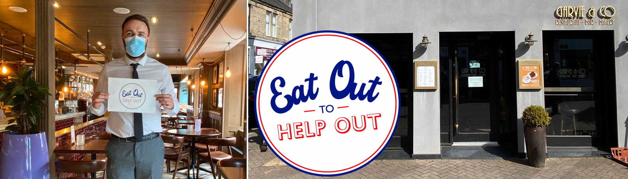 Eat Out to Help Out in Milngavie