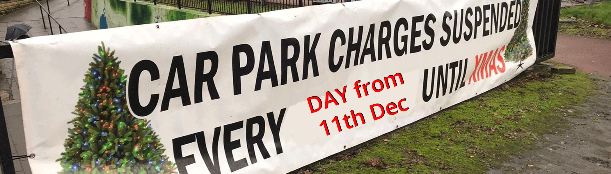 Car Parking Suspended from 11th Dec