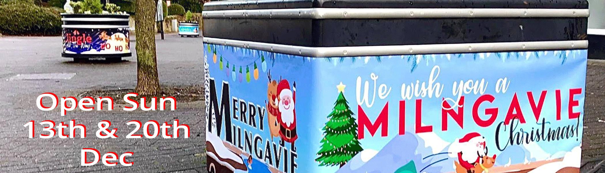 Milngavie Open Sun 13 and 20 Dec 2020