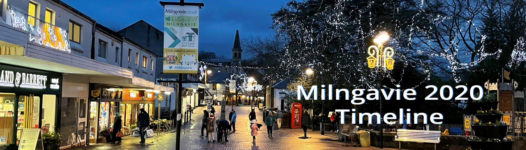 Milngavie 2020 Timeline
