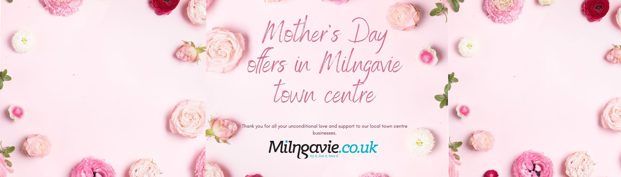 Mother's Day Milngavie town centre 2021