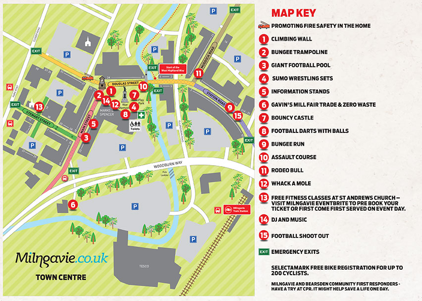 Loves Local Healthy Habits Event Map for 11 September 2021